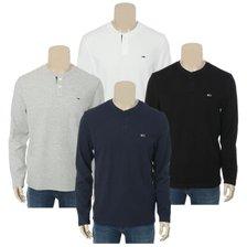 20F/W[남]면혼방 와플 헨리넥 티셔츠(T32A6TTO003MT2)