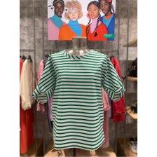 [19S/S] 소매 매듭 포인트 스트라이프 티셔츠 BATS84931