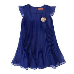 티파니주니어 블루 주름 원피스 (T63KAO050)