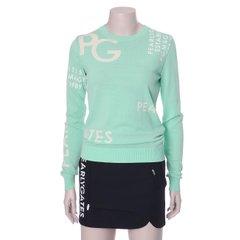 [파리게이츠]2021년 봄 여성 파리케이츠 전면로코 니트 티셔츠 521A1SR159