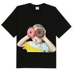 BABY FACE 도너츠1 블랙반팔티셔츠
