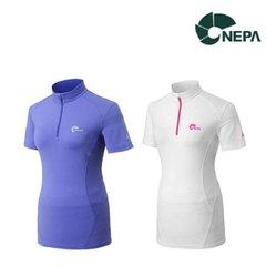 네파 여성 여름 세테 등산집업티셔츠 7B45403