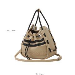 [21S/S](양말3개사은품)PG봄신상품 여성 투라인 스트랩 버킷백(521A5BG655 BG)