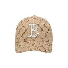 [MLB]보스턴레드삭스 다이아 모노그램 커브조절캡(32CPFH011-43B)