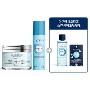 [수분 진정] 아쿠아 레오티에 퀀치 크림 + 미스트 세트
