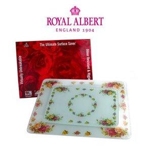 로얄알버트 황실장미 유리도마 2P(L+S)