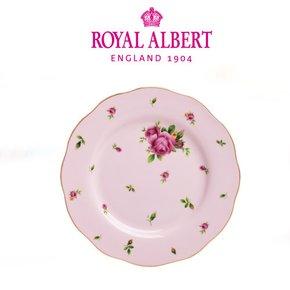 로얄알버트 뉴황실장미 중접시 20cm 핑크 단품1p