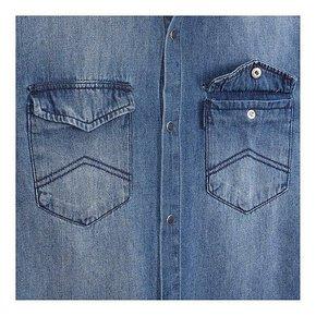 19 F/W 남성 투 포켓 데님 셔츠(A419320003)_추가이미지