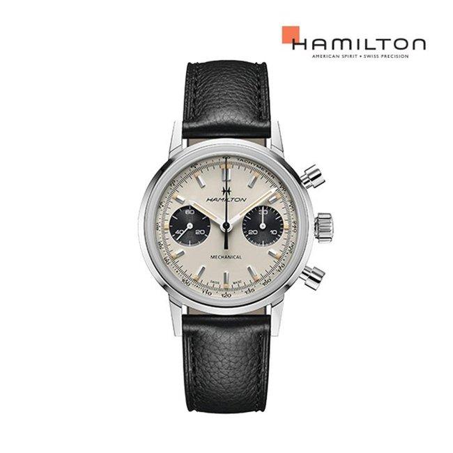 [공식]해밀턴 H38429710 아메리칸 클래식 인트라 매틱 크로노그래프H 남성시계