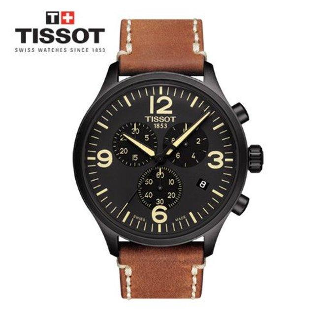 [티쏘]남성가죽시계 Tissot Chrono XL 크로노 XL_T116.617.36.057.00