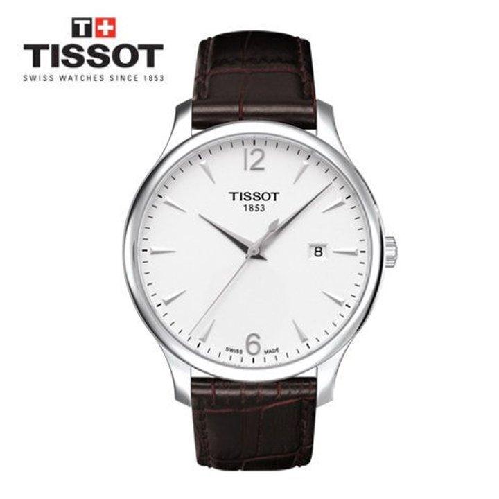 [티쏘]남성가죽시계 Tissot Tradition 트레디션 쿼츠_T063.610.16.037.00 기본 이미지